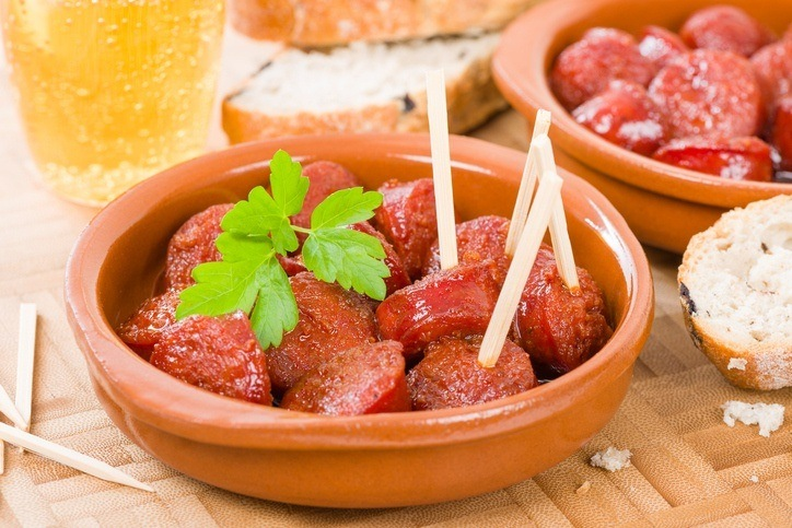 Chorizo sidra