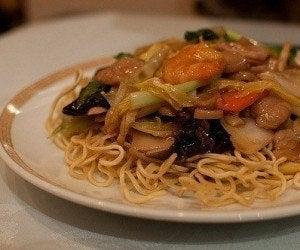 Año Nuevo Chino: Chow Mein de pollo