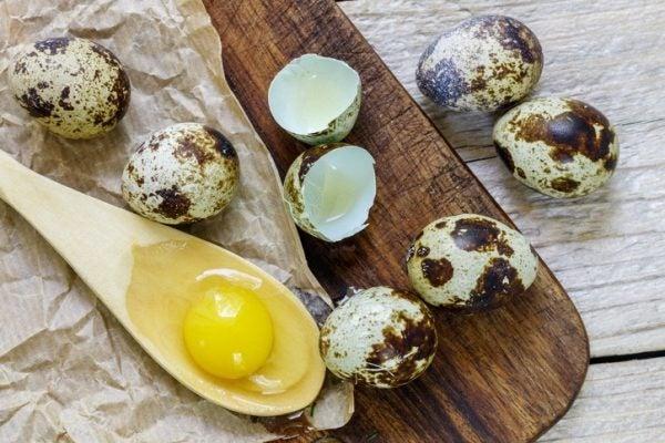 Cocer huevo codorniz