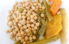 Receta de cocido vegetariano