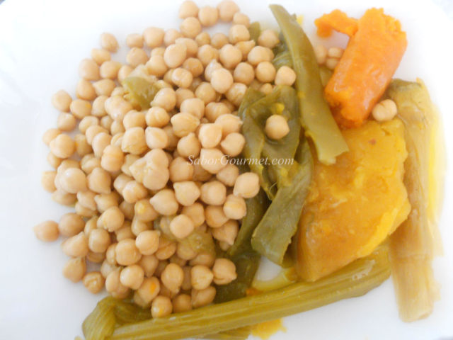cocido vegetariano