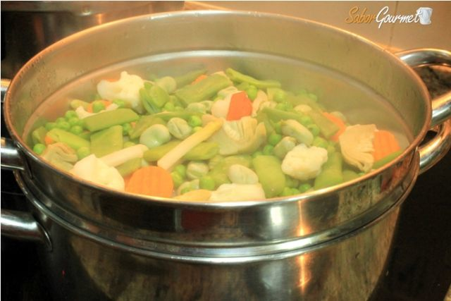 Beneficios de la cocina al vapor for Recipientes para cocinar al vapor