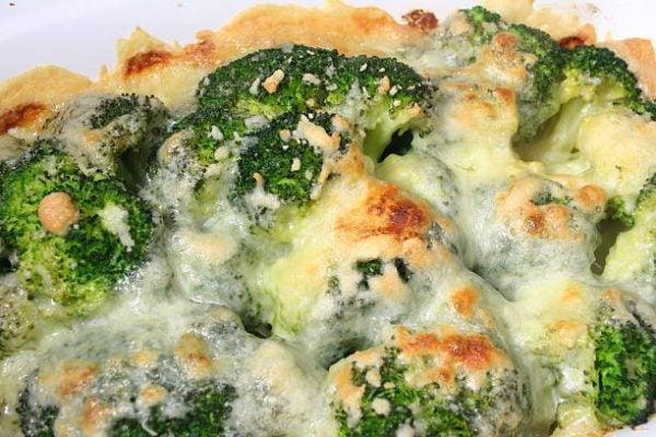Como cocinar brocoli gratinado