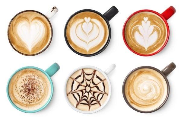 Como hacer dibujos en el cafe con espuma