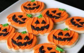 Galletas fáciles para Halloween 2017