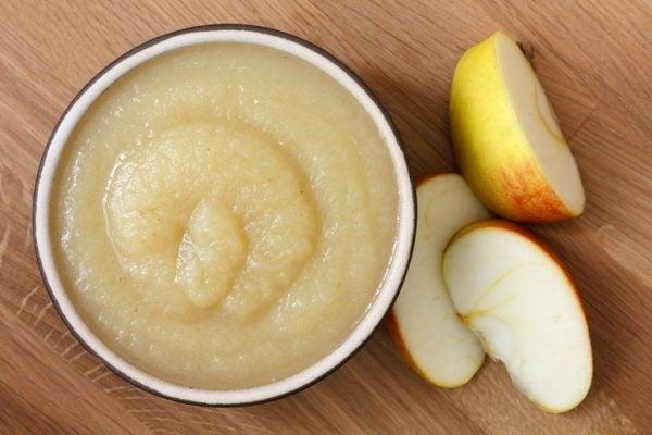 Como hacer pure de manzana
