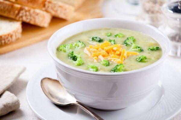 Como hacer sopa de brocoli verduras
