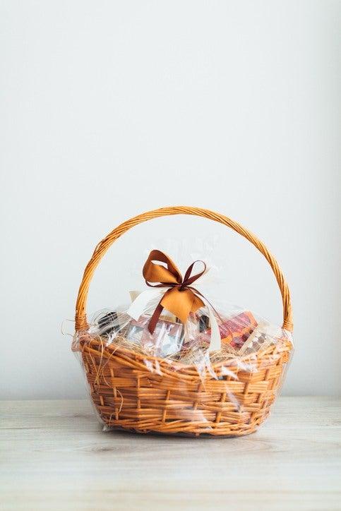 Como hacer una cesta de navidad tu mismo cesta de mimbre con asa