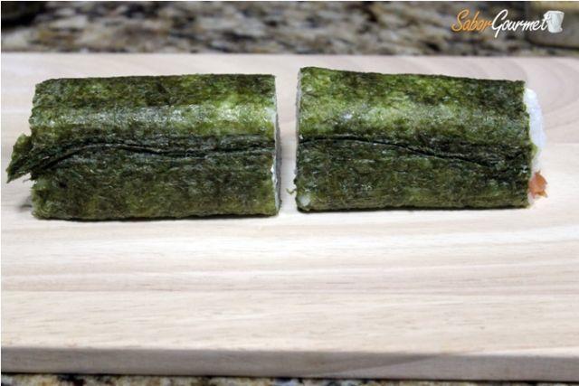 cortar sushi