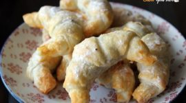 Receta fácil: Croissants rellenos de chocolate