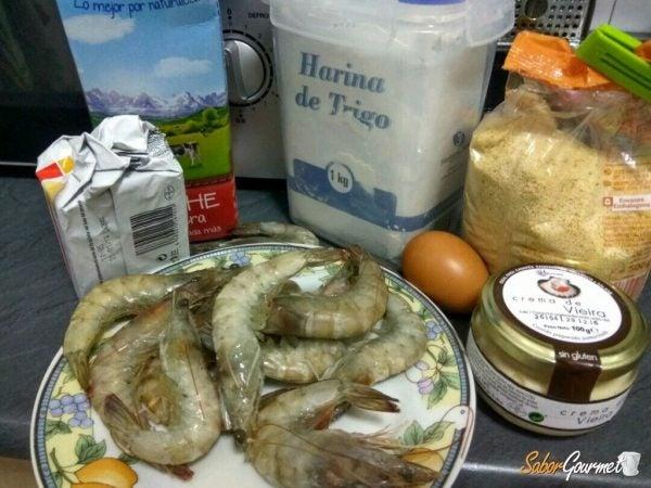 croquetas-gambas-vieiras-ingredientes
