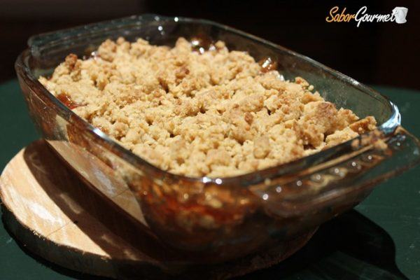 crumble-receta