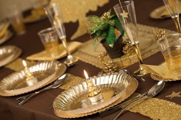 decoracion-para-esta-navidad-2015-mantel-con-metalizados