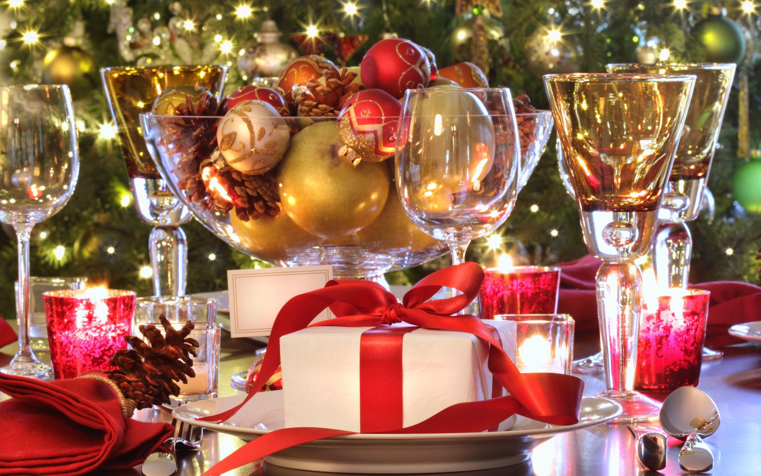 Decorar la mesa de navidad 2017 - Mesa de navidad decorada ...