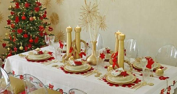 Decorar la mesa de navidad 2019 - Como adornar la mesa en navidad ...