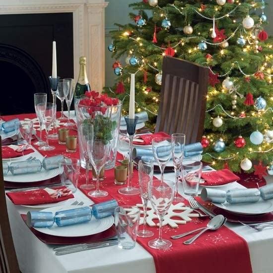 Decorar la mesa de navidad 2018 - Mesa para navidad decoracion ...