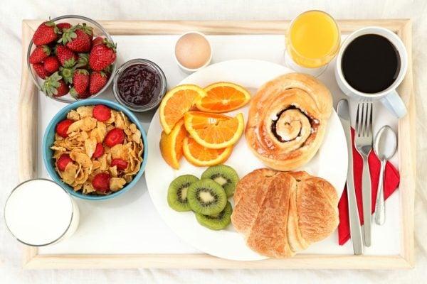 Desayuno dia madre facil