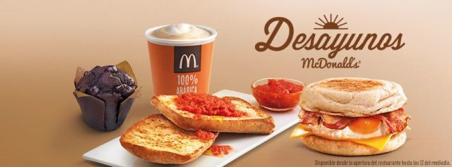 desayunos mc donalds
