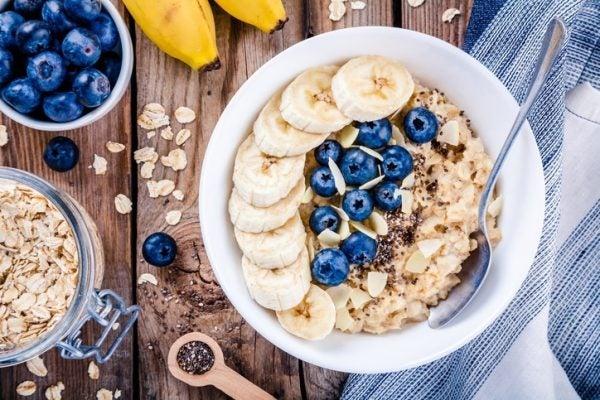 Desayunos sanos gachas avena