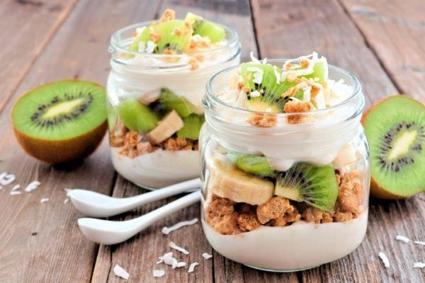 Desayunos sanos yogur