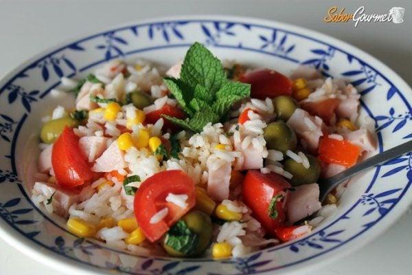 ensalada-arroz-pechuga-pavo-menta