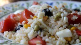 Ensalada de arroz primavera
