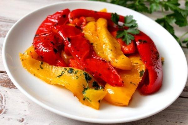 Ensalada pimentos asados