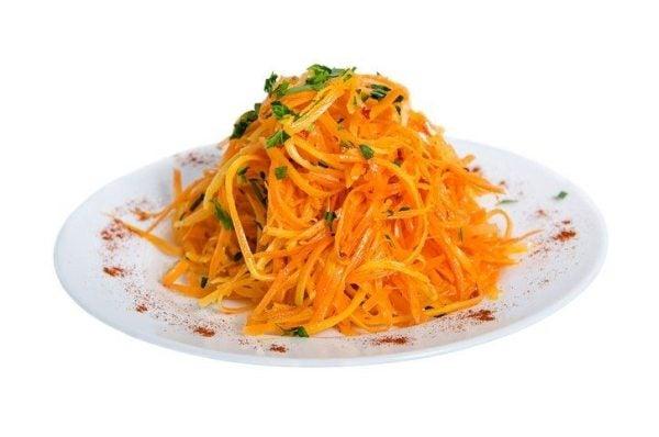 Ensaladas de zanahoria mountain