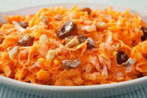 Ensaladas de zanahoria sesamo