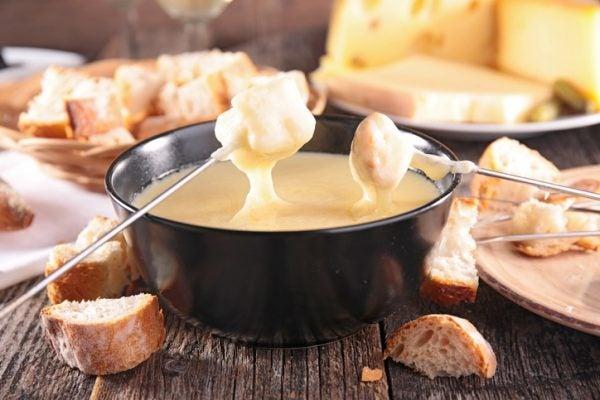 Fondue queso