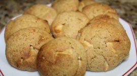 Receta fácil de galletas de chocolate blanco