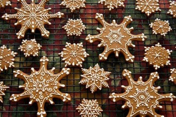 galletas-de-navidad-decoradas-copos-de-nieve