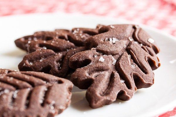 galletas-de-navidad-galletas-de-jenjibre-y-chocolate-preparacion