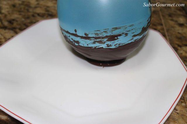 globo cesta chocolate