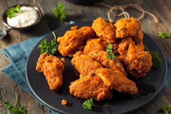 Hacer pollo frito