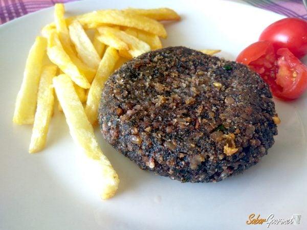 hamburguesas-de-arroz-vegetariana