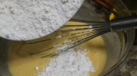 Magdalenas de chocolate y leche condensada