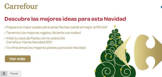 Restaurantes y recetas cat logo carrefour navidad 2011 - Arboles navidad carrefour ...