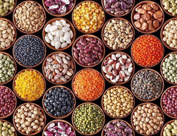 La ensalada de legumbres tricolor para vegetarianos