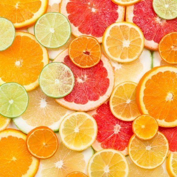 La ensalada de pomelo y naranja