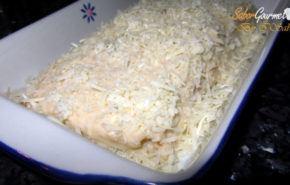 Lasaña de pavo y queso