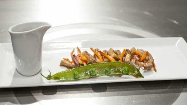 las-mejores-recetas-de-master-chef-CARNE-ternera-y-cerdo-agridulce-con-verduras