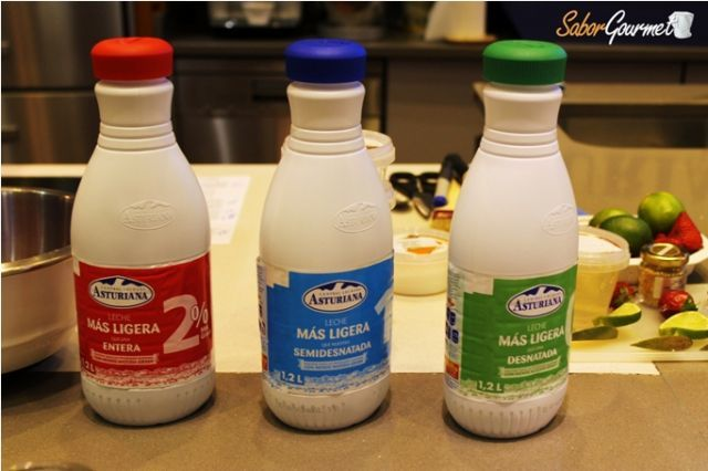 leche asturiana ligera
