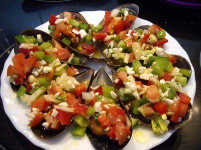 Mejillones marineros recetas de cocina en sabor gourmet for Como cocinar almejas