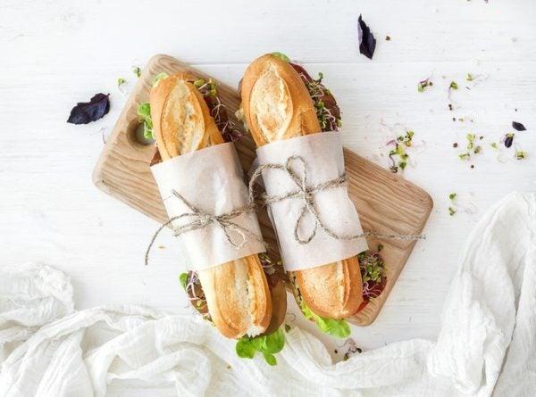 Mejores panes para hacer bocadillos para dieta