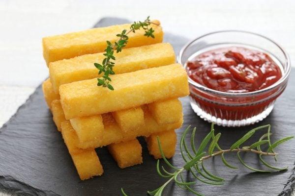 Mejores recetas polenta frita