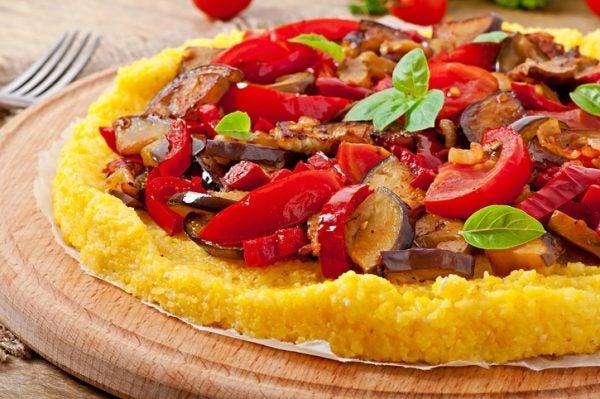 Mejores recetas polenta verduras