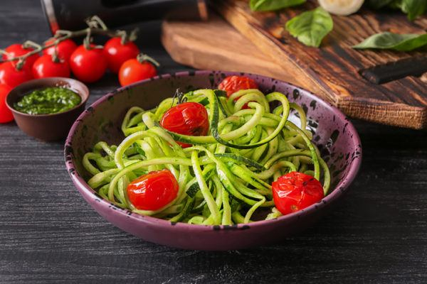 Menu semanal teletrabajo espaguetis de calabacin