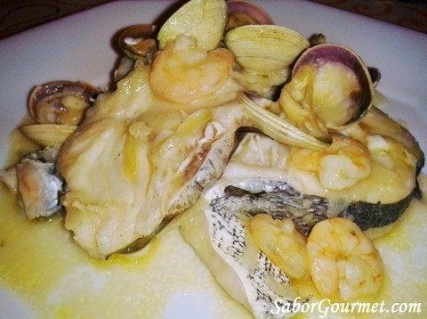 Restaurante El Brezo Palencia MErluza Cazuela