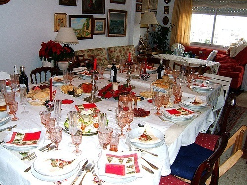Decorar la mesa de navidad 2014 for Como decorar la mesa para navidad